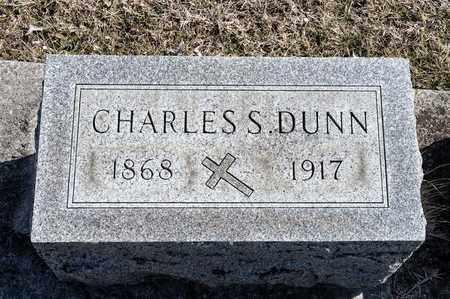 DUNN, CHARLES S - Richland County, Ohio | CHARLES S DUNN - Ohio Gravestone Photos