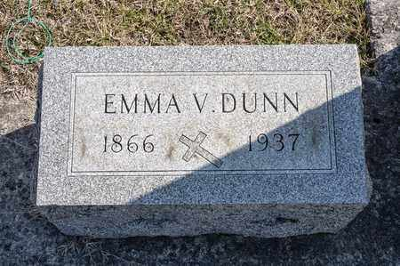 DUNN, EMMA V - Richland County, Ohio | EMMA V DUNN - Ohio Gravestone Photos