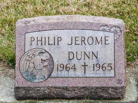 DUNN, PHILIP JEROME - Richland County, Ohio | PHILIP JEROME DUNN - Ohio Gravestone Photos