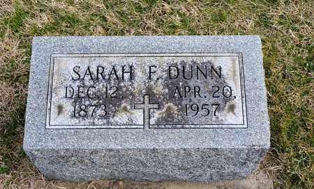 DUNN, SARAH F - Richland County, Ohio | SARAH F DUNN - Ohio Gravestone Photos