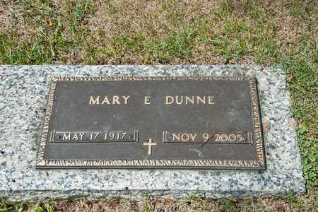 DUNNE, MARY E - Richland County, Ohio | MARY E DUNNE - Ohio Gravestone Photos