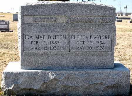 MOORE, ELECTA E - Richland County, Ohio | ELECTA E MOORE - Ohio Gravestone Photos
