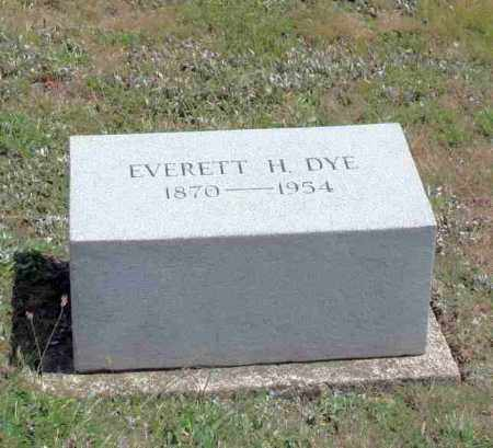 DYE, EVERETT H - Richland County, Ohio | EVERETT H DYE - Ohio Gravestone Photos