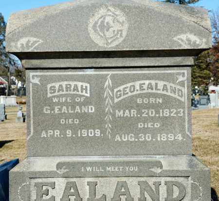 EALAND, GEORGE - Richland County, Ohio | GEORGE EALAND - Ohio Gravestone Photos
