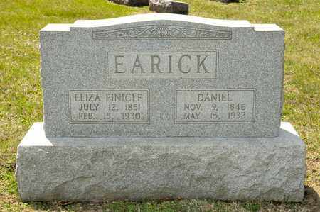FINICLE EARICK, ELIZA - Richland County, Ohio | ELIZA FINICLE EARICK - Ohio Gravestone Photos