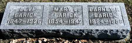 EARICK, EARNEY F - Richland County, Ohio | EARNEY F EARICK - Ohio Gravestone Photos