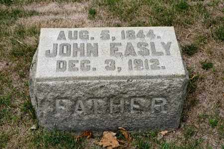 EASLY, JOHN - Richland County, Ohio | JOHN EASLY - Ohio Gravestone Photos