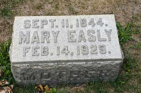 EASLY, MARY - Richland County, Ohio | MARY EASLY - Ohio Gravestone Photos