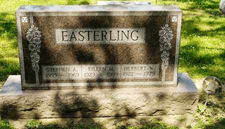 EASTERLING, STEPHEN A - Richland County, Ohio | STEPHEN A EASTERLING - Ohio Gravestone Photos