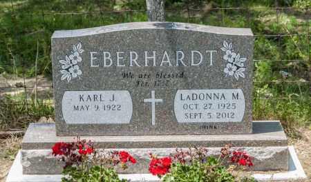 HINK EBERHARDT, LADONNA M - Richland County, Ohio | LADONNA M HINK EBERHARDT - Ohio Gravestone Photos