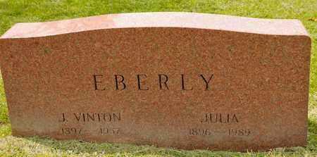 EBERLY, JULIA - Richland County, Ohio | JULIA EBERLY - Ohio Gravestone Photos