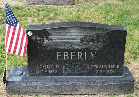 EBERLY, JACQUE D - Richland County, Ohio | JACQUE D EBERLY - Ohio Gravestone Photos