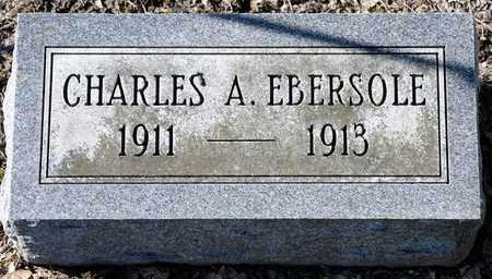 EBERSOLE, CHARLES A - Richland County, Ohio | CHARLES A EBERSOLE - Ohio Gravestone Photos