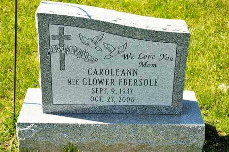 GLOWER EBERSOLE, CAROLEANN - Richland County, Ohio | CAROLEANN GLOWER EBERSOLE - Ohio Gravestone Photos