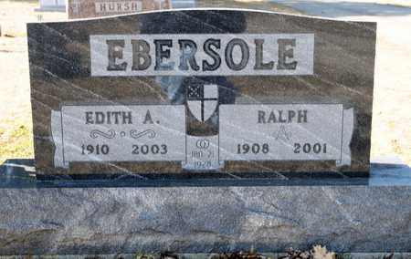 EBERSOLE, RALPH - Richland County, Ohio | RALPH EBERSOLE - Ohio Gravestone Photos