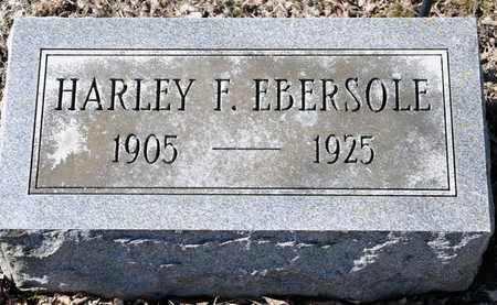 EBERSOLE, HARLEY F - Richland County, Ohio | HARLEY F EBERSOLE - Ohio Gravestone Photos