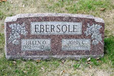 EBERSOLE, JOHN C - Richland County, Ohio | JOHN C EBERSOLE - Ohio Gravestone Photos