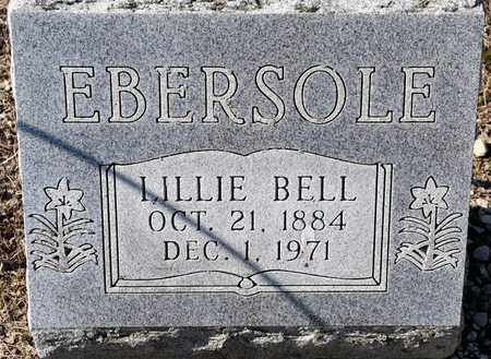 EBERSOLE, LILLIE BELL - Richland County, Ohio | LILLIE BELL EBERSOLE - Ohio Gravestone Photos