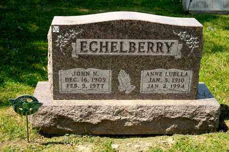 ECHELBERRY, ANNE LUELLA - Richland County, Ohio | ANNE LUELLA ECHELBERRY - Ohio Gravestone Photos