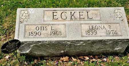 ECKEL, OTIS L - Richland County, Ohio | OTIS L ECKEL - Ohio Gravestone Photos