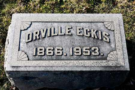 ECKIS, ORVILLE - Richland County, Ohio | ORVILLE ECKIS - Ohio Gravestone Photos