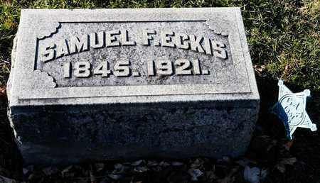 ECKIS, SAMUEL F - Richland County, Ohio | SAMUEL F ECKIS - Ohio Gravestone Photos
