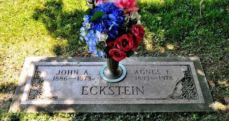 ECKSTEIN, JOHN A - Richland County, Ohio | JOHN A ECKSTEIN - Ohio Gravestone Photos