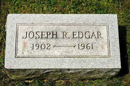 EDGAR, JOSEPH R - Richland County, Ohio | JOSEPH R EDGAR - Ohio Gravestone Photos