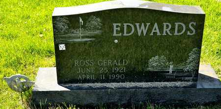 EDWARDS, ROSS GERALD - Richland County, Ohio | ROSS GERALD EDWARDS - Ohio Gravestone Photos