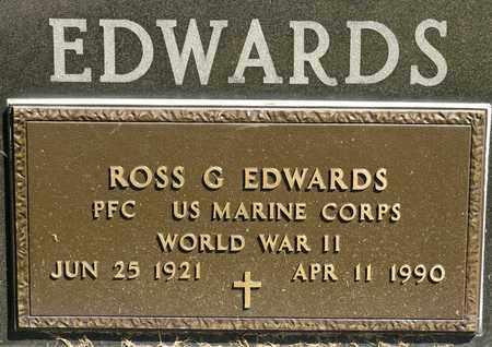 EDWARDS, ROSS GERALD - Richland County, Ohio | ROSS GERALD EDWARDS - Ohio Gravestone Photos