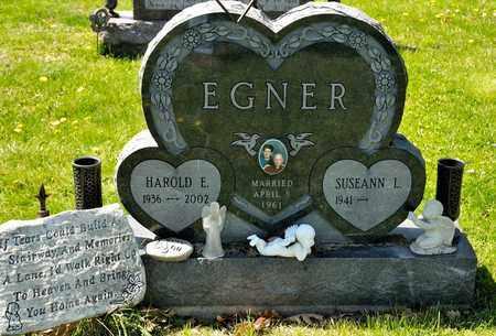 EGNER, HAROLD E - Richland County, Ohio | HAROLD E EGNER - Ohio Gravestone Photos