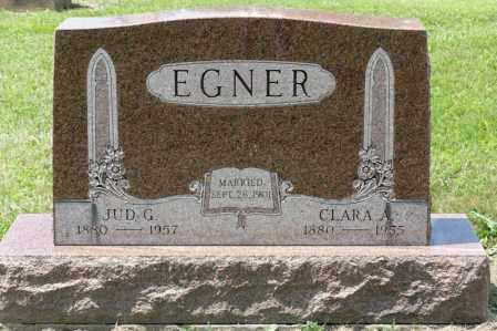EGNER, CLARA A - Richland County, Ohio | CLARA A EGNER - Ohio Gravestone Photos
