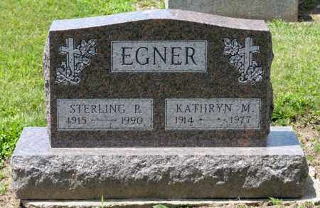 EGNER, STERLING P - Richland County, Ohio | STERLING P EGNER - Ohio Gravestone Photos