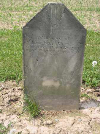 EHREL, ELIZABETH - Richland County, Ohio | ELIZABETH EHREL - Ohio Gravestone Photos