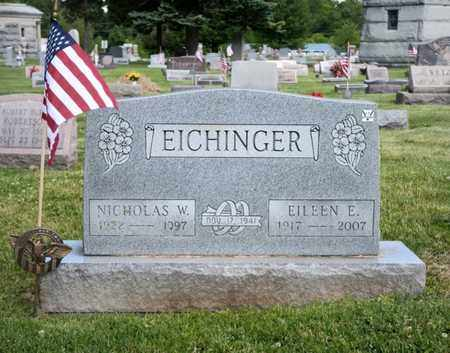 EICHINGER, NICHOLAS W - Richland County, Ohio | NICHOLAS W EICHINGER - Ohio Gravestone Photos
