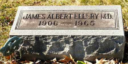 ELLERY, JAMES ALBERT - Richland County, Ohio | JAMES ALBERT ELLERY - Ohio Gravestone Photos