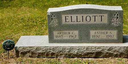 ELLIOTT, ESTHER S - Richland County, Ohio | ESTHER S ELLIOTT - Ohio Gravestone Photos