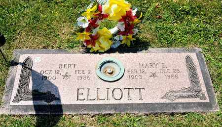 ELLIOTT, MARY E - Richland County, Ohio | MARY E ELLIOTT - Ohio Gravestone Photos
