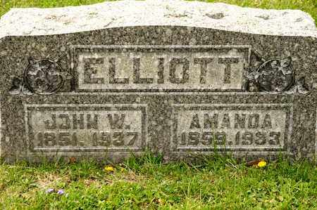 ELLIOTT, JOHN W - Richland County, Ohio | JOHN W ELLIOTT - Ohio Gravestone Photos