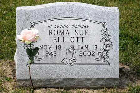 ELLIOTT, ROMA SUE - Richland County, Ohio | ROMA SUE ELLIOTT - Ohio Gravestone Photos