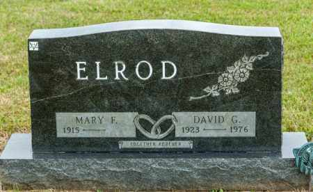 ELROD, DAVID G - Richland County, Ohio | DAVID G ELROD - Ohio Gravestone Photos
