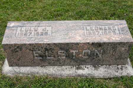 ELSTON, LEONARD - Richland County, Ohio | LEONARD ELSTON - Ohio Gravestone Photos