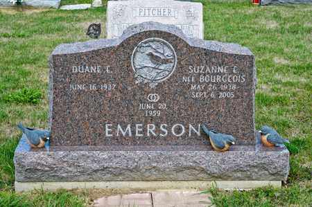 BOURGEOIS EMERSON, SUZANNE E - Richland County, Ohio | SUZANNE E BOURGEOIS EMERSON - Ohio Gravestone Photos