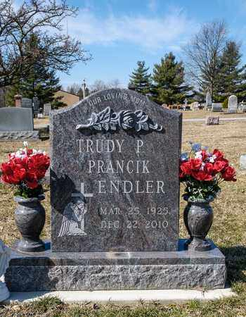 PRANCIK ENDLER, TRUDY P - Richland County, Ohio | TRUDY P PRANCIK ENDLER - Ohio Gravestone Photos