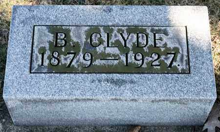 ENDSLOW, B CLYDE - Richland County, Ohio | B CLYDE ENDSLOW - Ohio Gravestone Photos