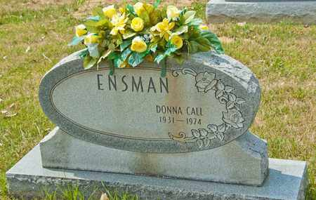 CALL ENSMAN, DONNA - Richland County, Ohio | DONNA CALL ENSMAN - Ohio Gravestone Photos