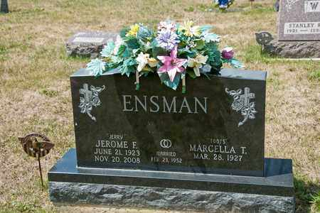 ENSMAN, JEROME F - Richland County, Ohio | JEROME F ENSMAN - Ohio Gravestone Photos
