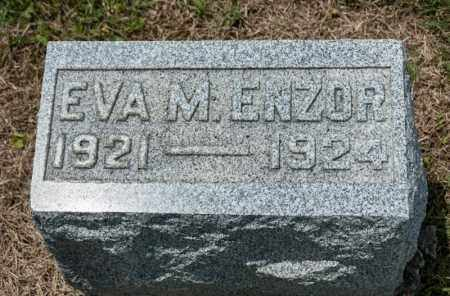 ENZOR, EVA M - Richland County, Ohio | EVA M ENZOR - Ohio Gravestone Photos