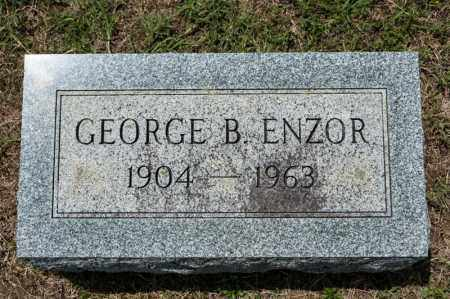 ENZOR, GEORGE B - Richland County, Ohio | GEORGE B ENZOR - Ohio Gravestone Photos