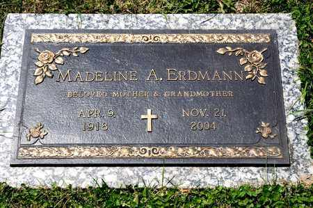 ERDMANN, MADELINE A - Richland County, Ohio | MADELINE A ERDMANN - Ohio Gravestone Photos